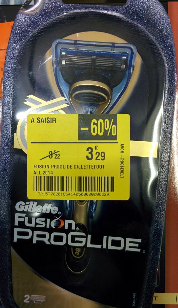 Rasoir Gillette Fusion Proglide - Avon (77)