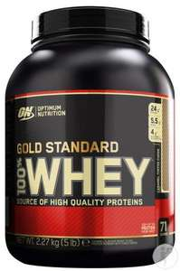 Optimum Nutrition Gold Standard 100% Whey Caramel - 2,27 kg