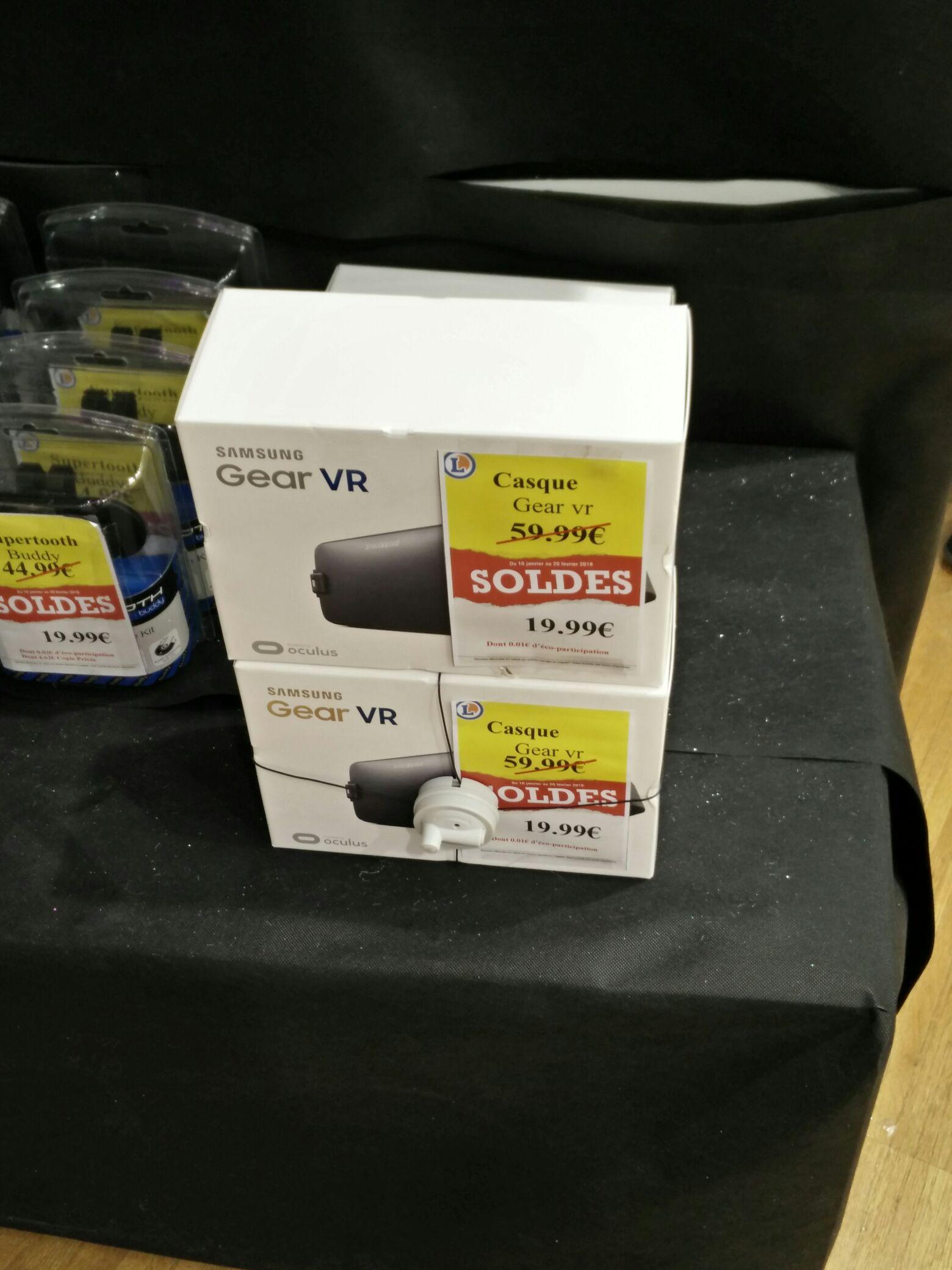 Casque de réalité virtuelle Samsung Gear VR au E.Leclerc Olonne-sur-Mer (85)