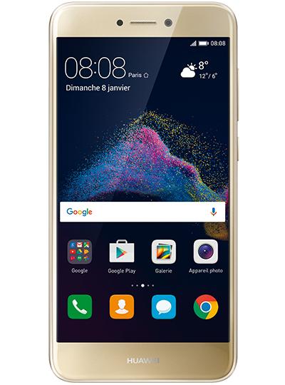 """Smartphone 5"""" Huawei P8 Lite (Kirin 620, 2 Go de RAM, 16 Go, or) + forfait mensuel Red by SFR au choix (à partir de 5€ / mois, sans engagement)"""