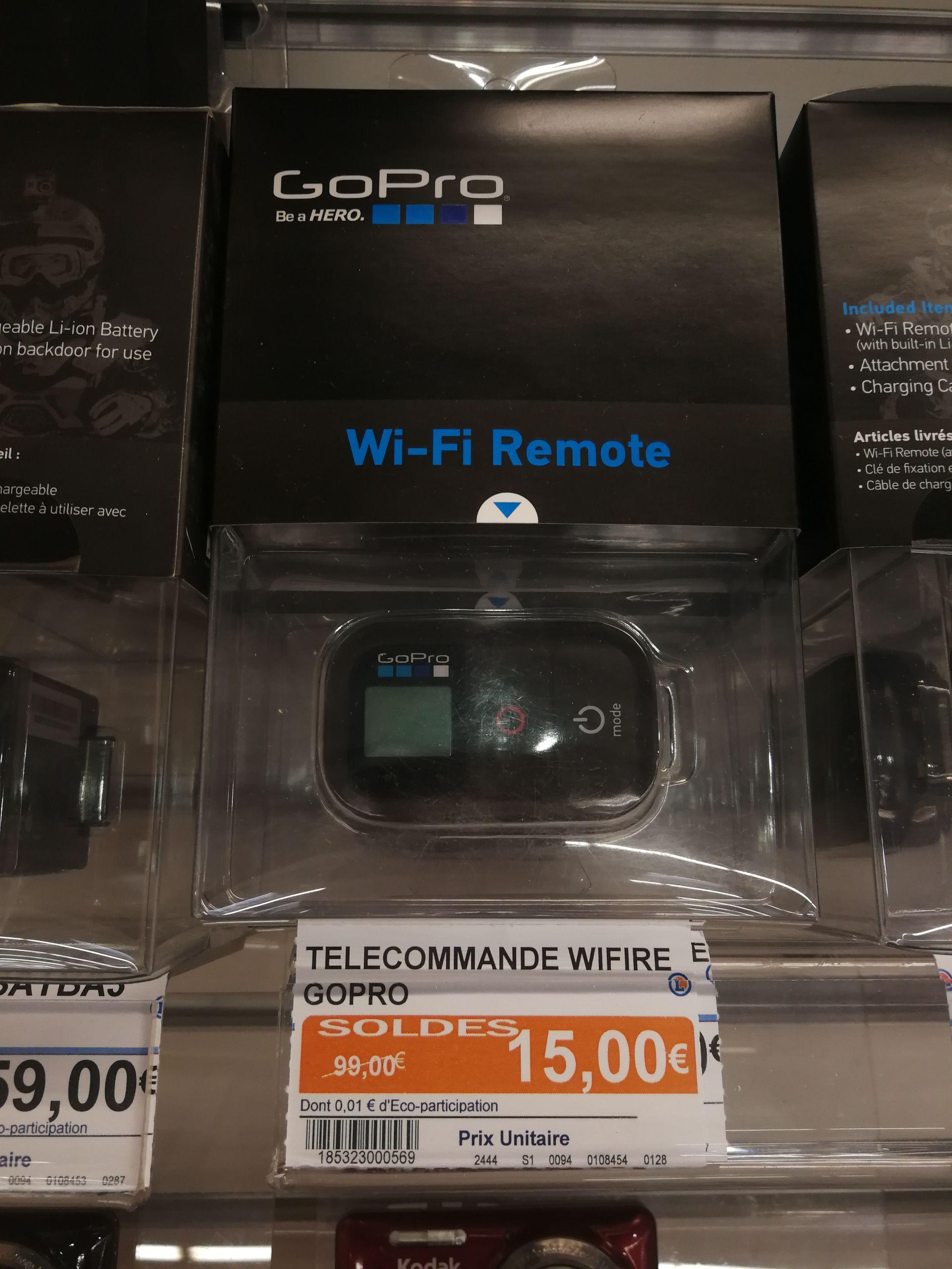 Télécommande pour caméra sportive GoPro Wi-Fi Remote au E.Leclerc Rezé (44)