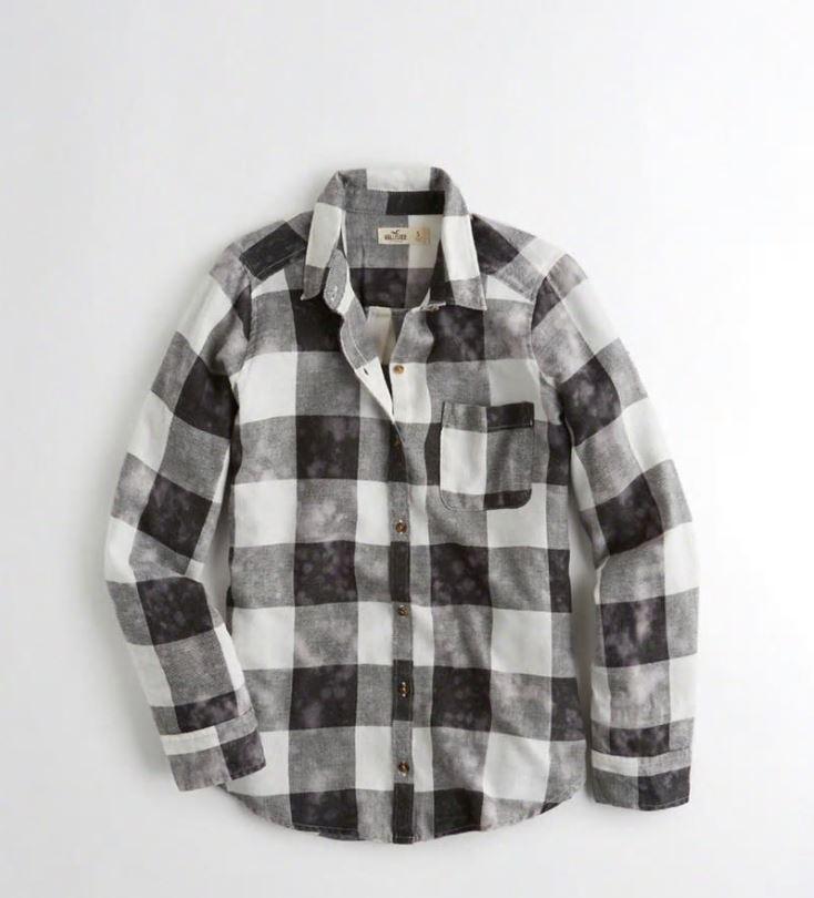 Jusqu'à 50% de réduction sur une sélection d'articles + livraison gratuite dès 50€ d'achat - Ex : chemise Oversize - en flanelle, différents coloris (du XS au L)