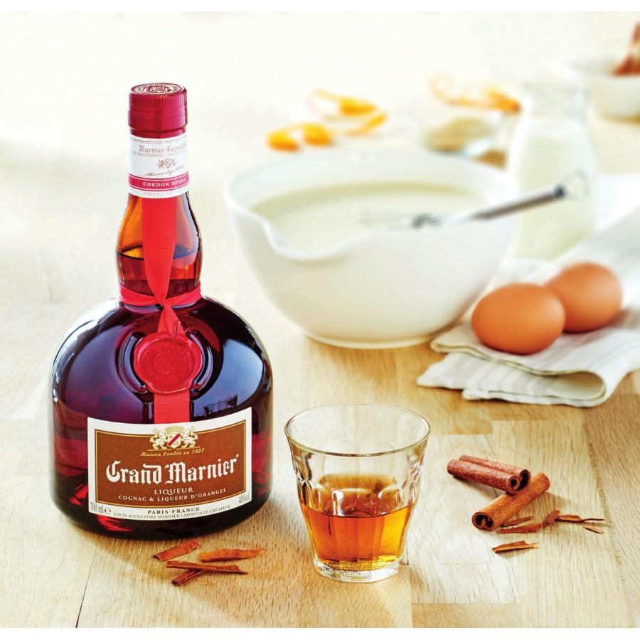 Bouteille de liqueur Grand Marnier Cordon Rouge - 70 cl (Via 10.44€ sur la carte de fidélité)