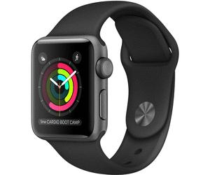 Montre connectée Apple Watch Series 2 - 42 mm, avec bracelet sport, noir
