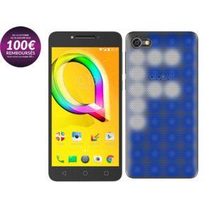 """Smartphone 5.2"""" Alcatel A5 LED - HD, MT6753, RAM 2 Go, ROM 16 Go (via ODR de 100€)"""