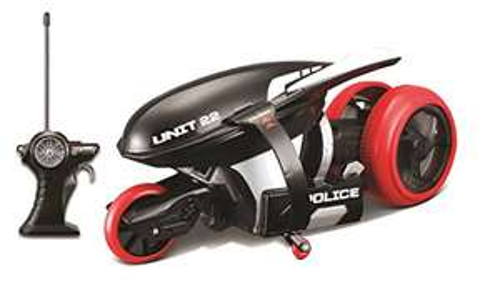 Maisto Tech - M82066P - Cyklone 360 - Véhicule Motorisé Futuriste Avec Roue Arrière Pivotante Et Led Lumineuses - 22 cm