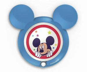 Veilleuse à détecteur de mouvement Philips Disney Mickey - LED