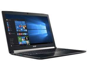 "PC Portable 17"" Acer Aspire 7 (A717-71G-54E1) - i5-7300HQ, 8 Go de Ram, 1 To + 128 Go SSD, GeForce GTX 1060"