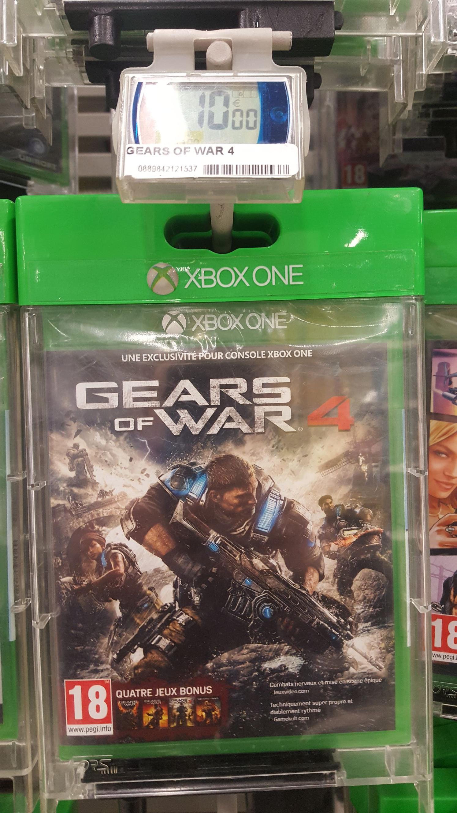 Jeu Gears of War 4 - Carrefour carré sénart (77)