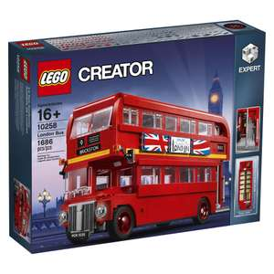 Jeu de construction Lego creator : London Bus n°10258