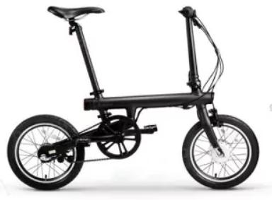 Vélo électrique pliable connecté Xiaomi QiCycle EF1 - Noir(expiré)