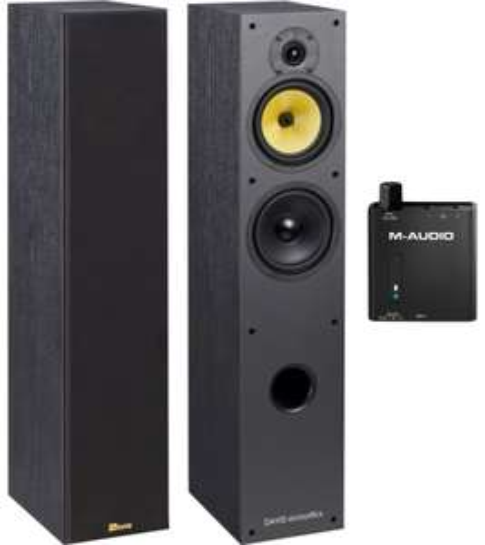 Paire d'enceintes Davis Hera 100 + DAC audio M-audio RMD basstraveler
