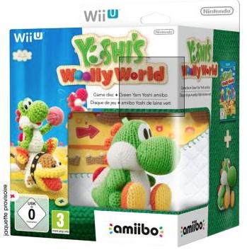 Précommande: Yoshi's Woolly World + Amiibo Yoshi en laine sur Wii U
