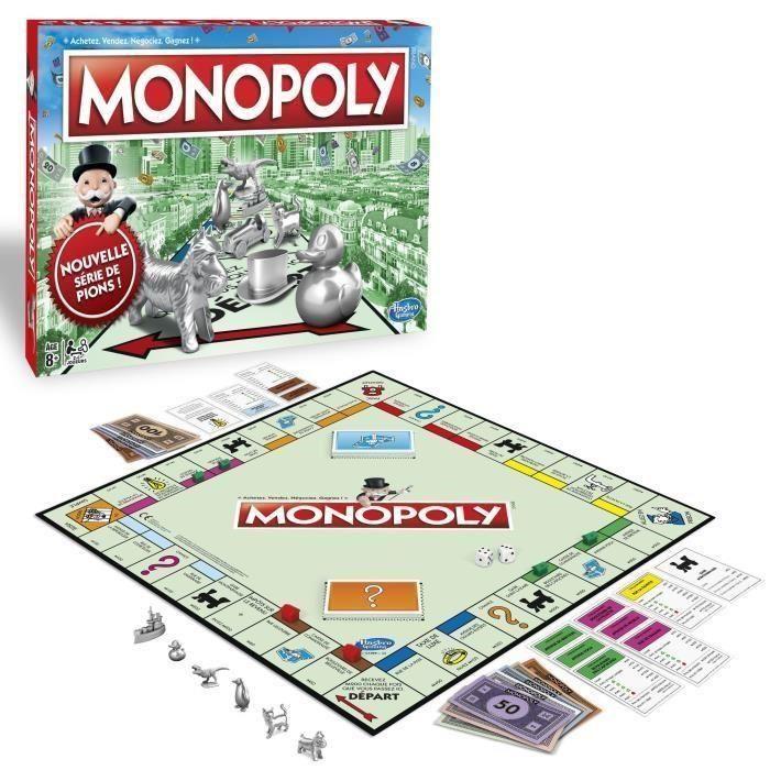 Jeu de société Monopoly Classique - Nouvelle Version (via 8.77€ en ODR)