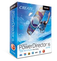 Logiciel CyberLink PowerDirector 16 ultra gratuit sur PC