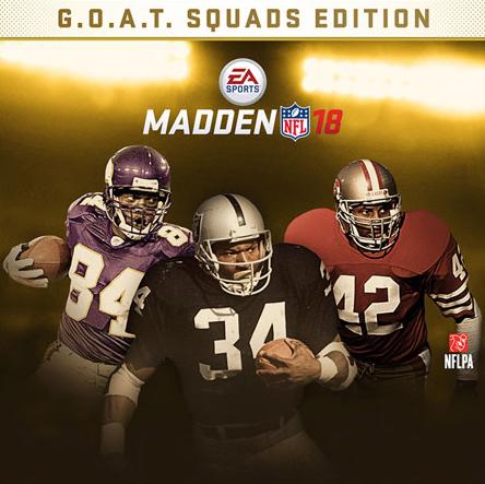 Madden NFL 18: GOAT Super Bowl Edition sur Xbox One (Dématérialisé, Store HK)