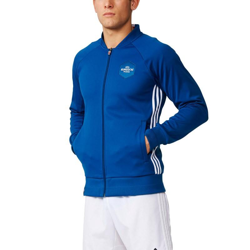 Sélection d'articles en Soldes jusqu'à 80% - Ex : Veste Adidas Euro 2016 Homme - Taille S, M et L