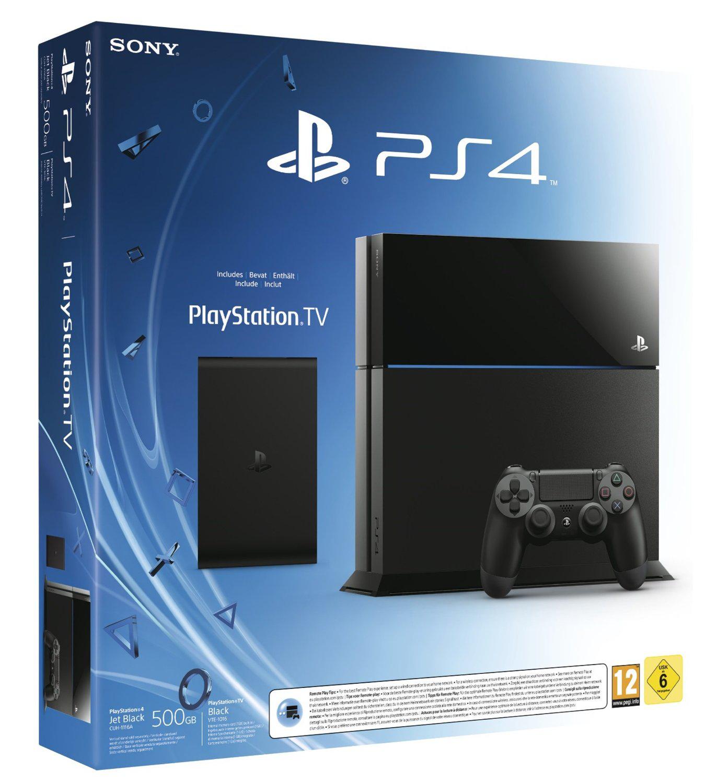 Console Sony PS4 + PlayStation TV (avec 3 jeux) + Bloodborne + Abonnement PS+ 90 jours