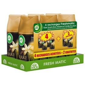 Lot de 6 recharches de désodorisant Air Wich Fresh'Matic Bois & Vanille