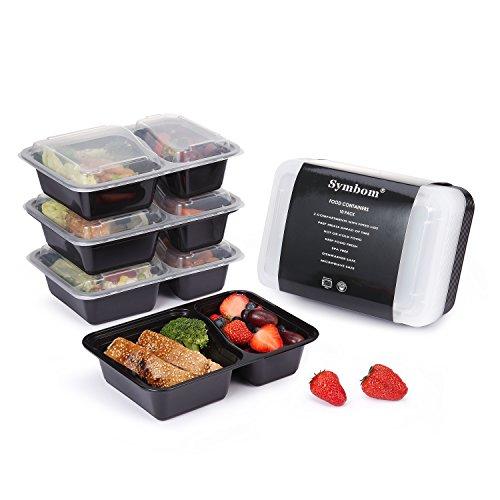 Lot de 20 boîtes plateau repas « bento box » réutilisables (vendeur tiers)