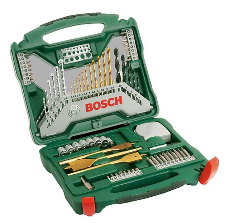 Coffret Bosch X-Line Titanium - 70 pièces