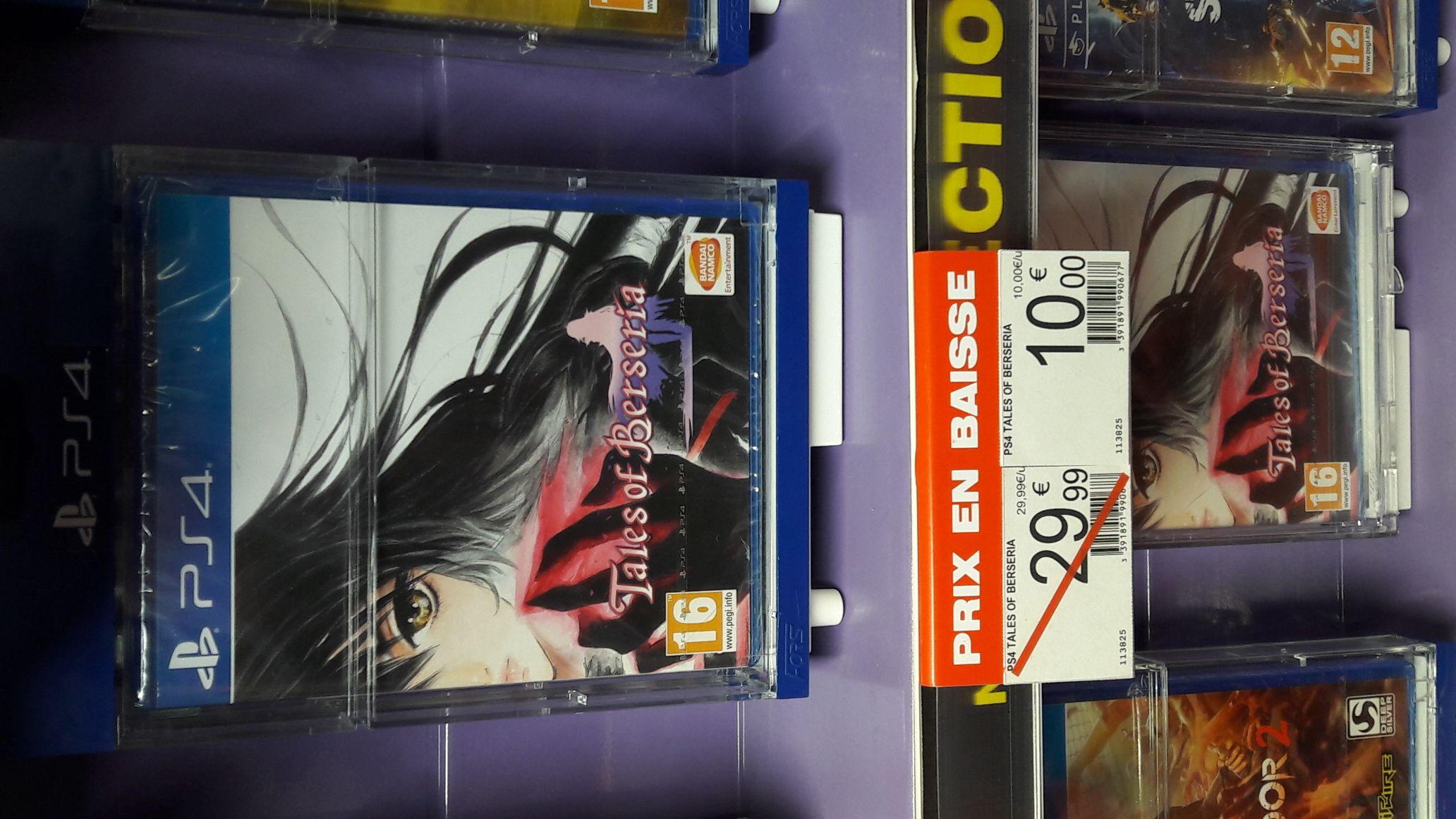 Tales of Berseria sur PS4 au Auchan La Défense Puteaux (92)