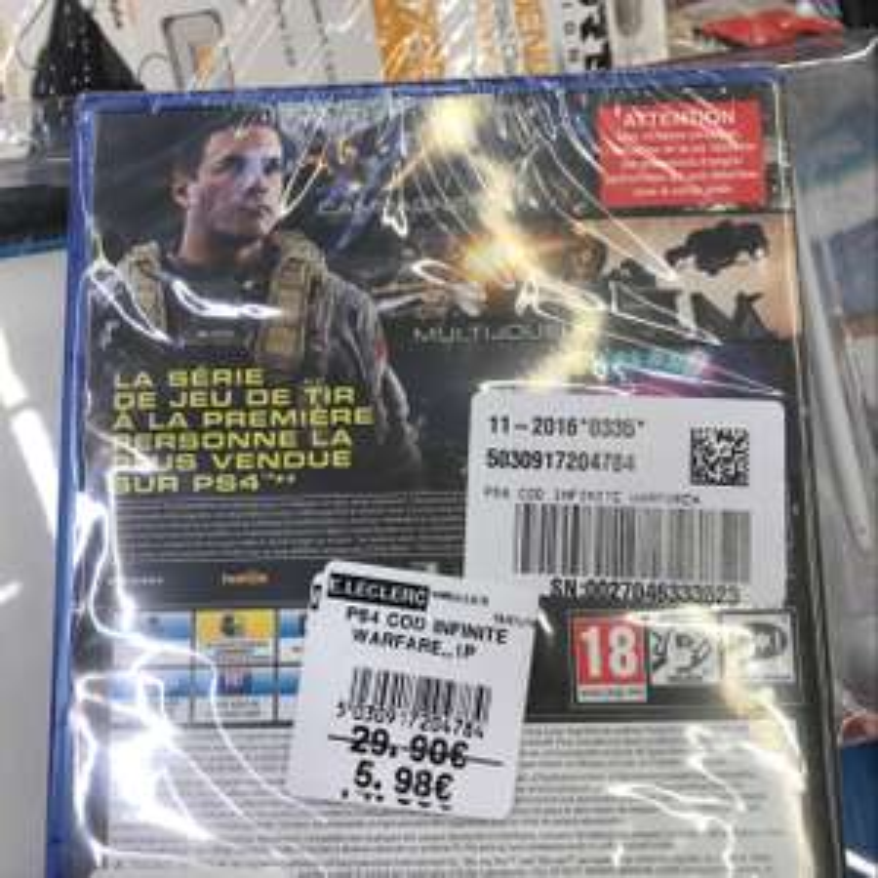 Call of duty infinite warfare sur PS4 - Mareuil-lès-Meaux (77)