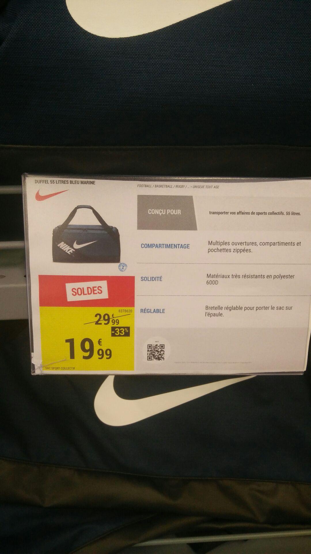 Sac Nike Brasilia 55l - Houdemont (54)