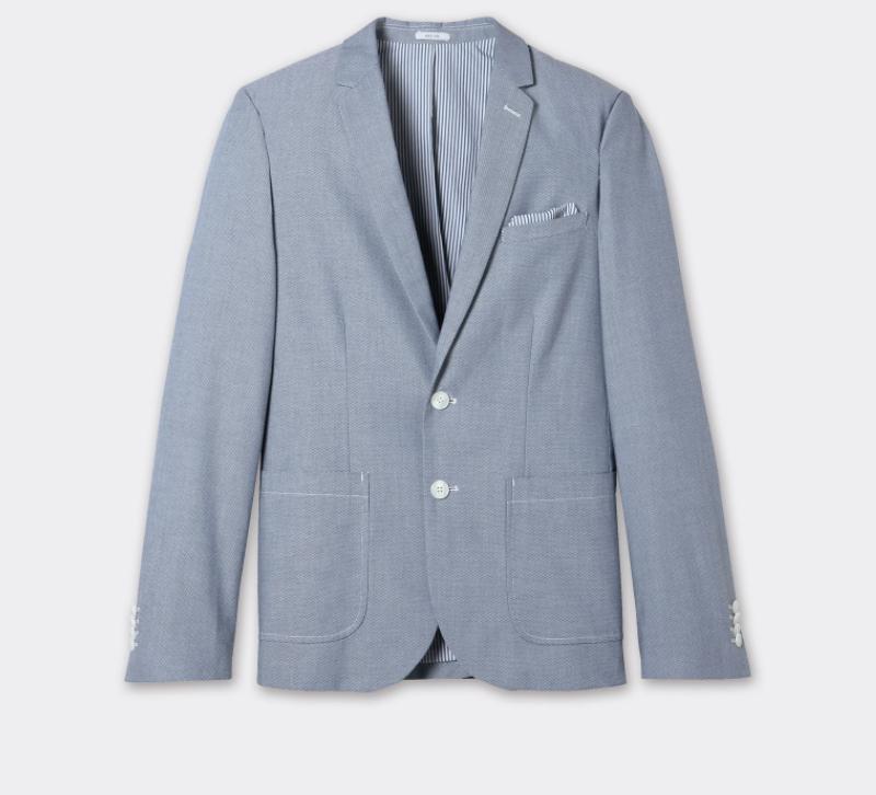 Jusqu'à -60% sur une sélection d'articles - Exemple : Veste Oxford - Différentes tailles