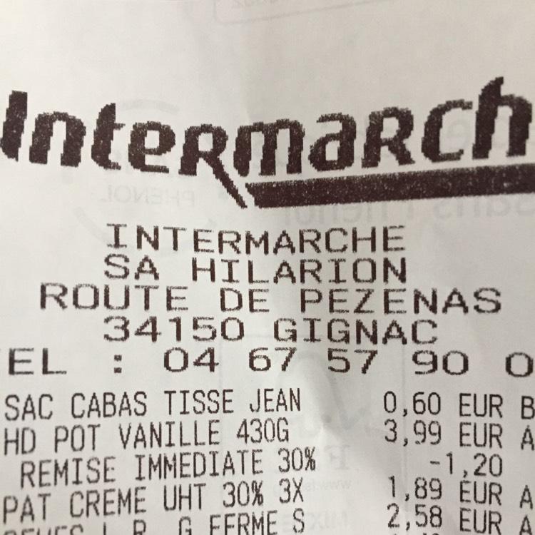 Pot de Glace Häagen-Dazs - 430g - Intermarché Gignac (34)