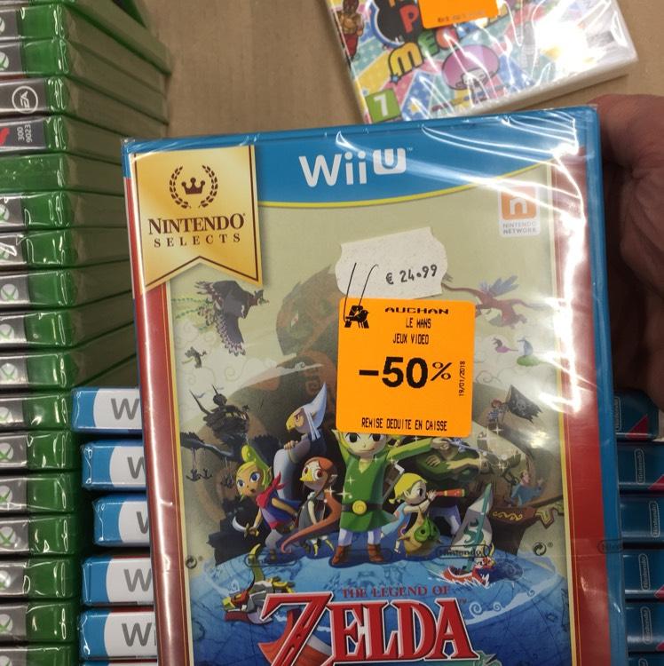 Jeu The legend of Zelda the wind waker sur Nintendo WiiU - Auchan La chapelle st Aubin (72)