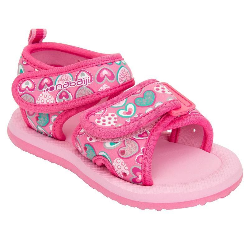 Sandales de natation pour bébé Nabaiji Picola - Rose