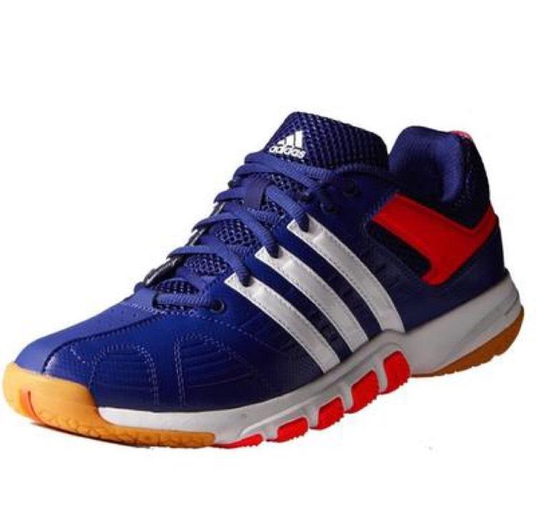 Chaussures Adidas Indoor Quickforce 5 Bleu pour Hommes - Tailles au choix