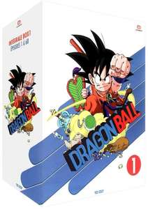 Dragon Ball integral en DVD - Box 1 ou 2