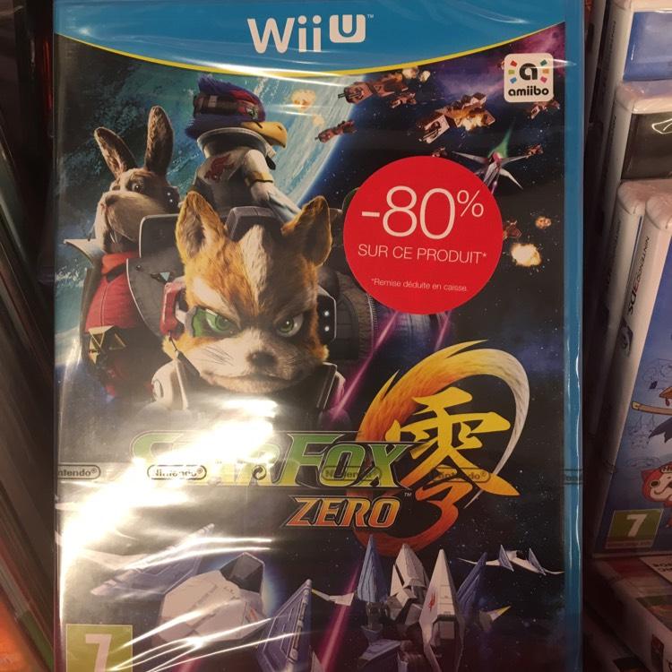 Star Fox Zero sur Wii U - Forum Des Halles - Paris (75)