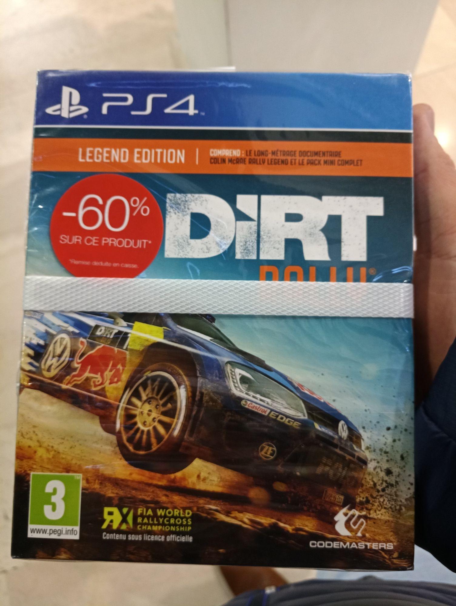 Jeu Dirt Rally sur PS4 - Légend Édition - Lyon Part Dieu (69)