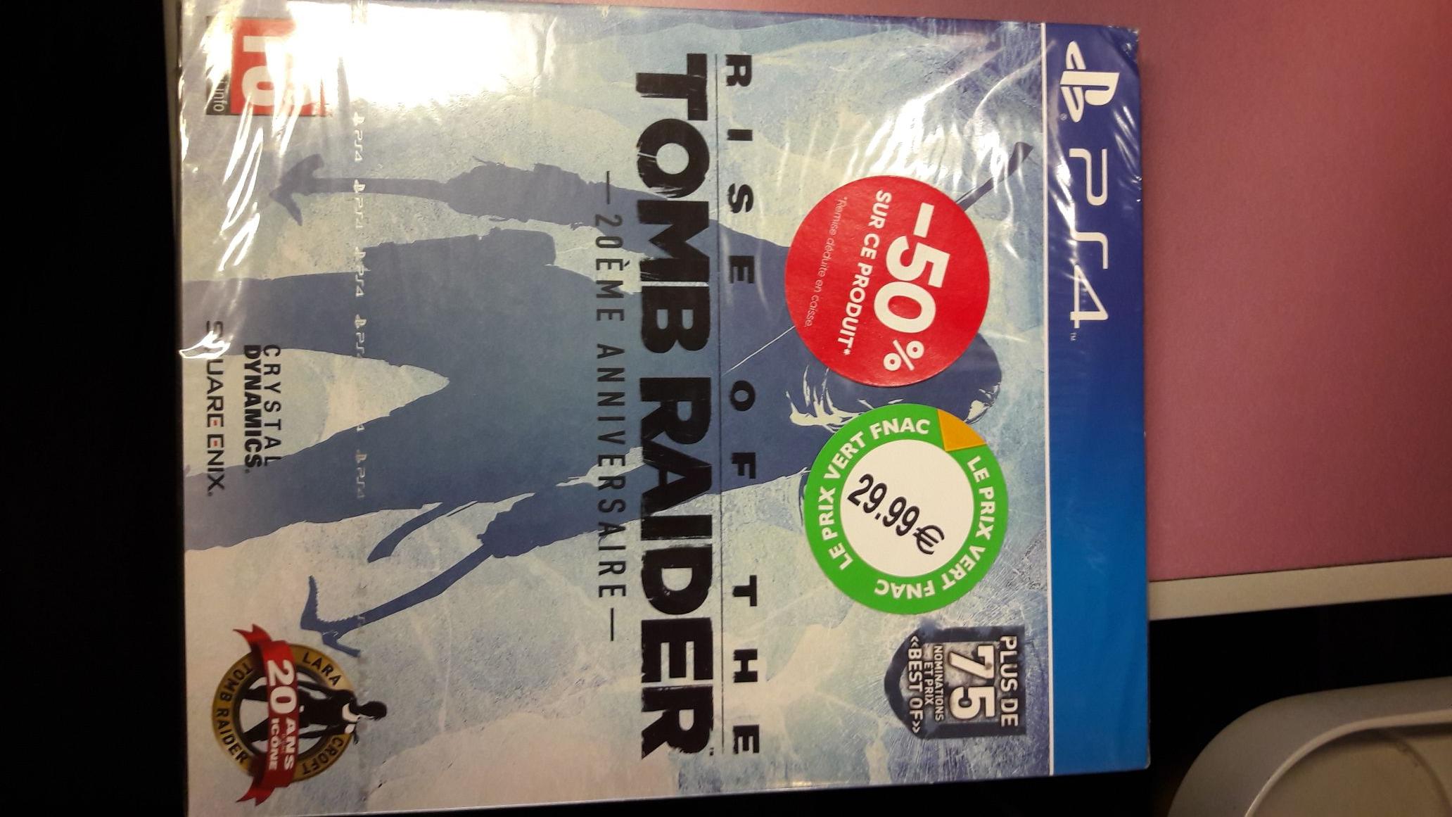 Rise of the Tomb Raider  sur PS4 - Fnac Gare de l'Est (75)