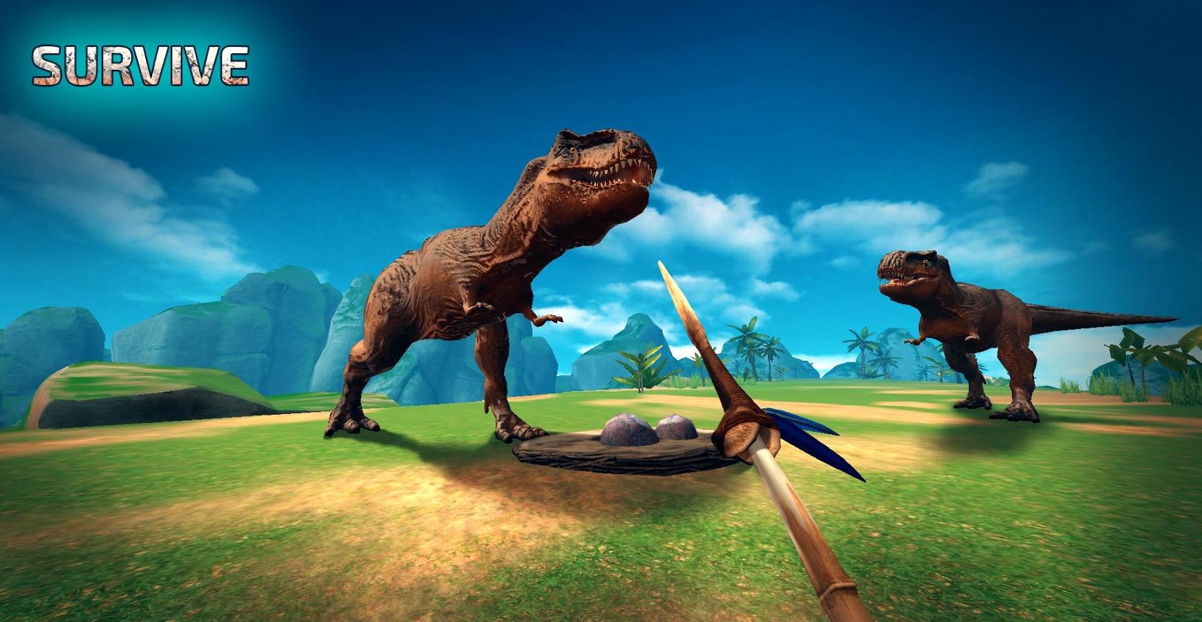 Sélection de jeux Android gratuits - Ex : Jurassic Survival Island: Evolve Pro (au lieu de 1.19€)