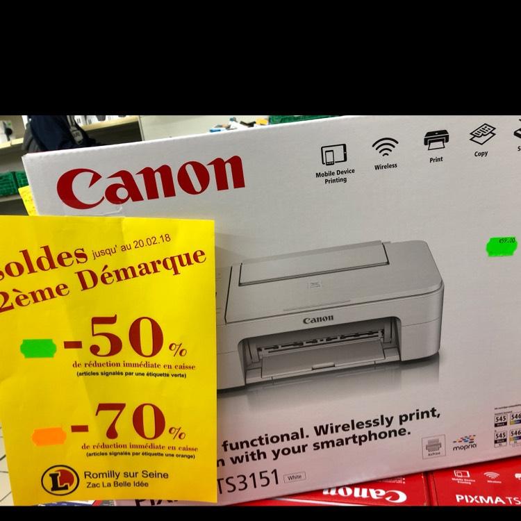 Imprimante Canon pixma TS3151 -  Romilly-sur-Seine (10)