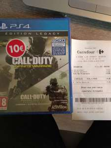 Call of Duty Infinite Warfare Edition Legacy PS4/Xbox One - Lyon Part Dieu (69) / Avignon (84)