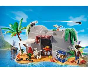 Set Playmobil Super4 (4797) - Caverne des Pirates