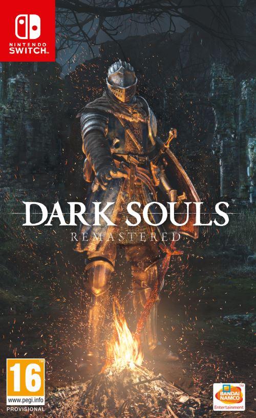 [Adhérents - pré-commandes] Sélection de jeux vidéo sur Switch avec 10€ crédités sur le compte fidélité - Ex : Dark Souls - Remastered