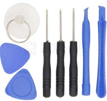 Set de 8 outils pour démontage de smartphone