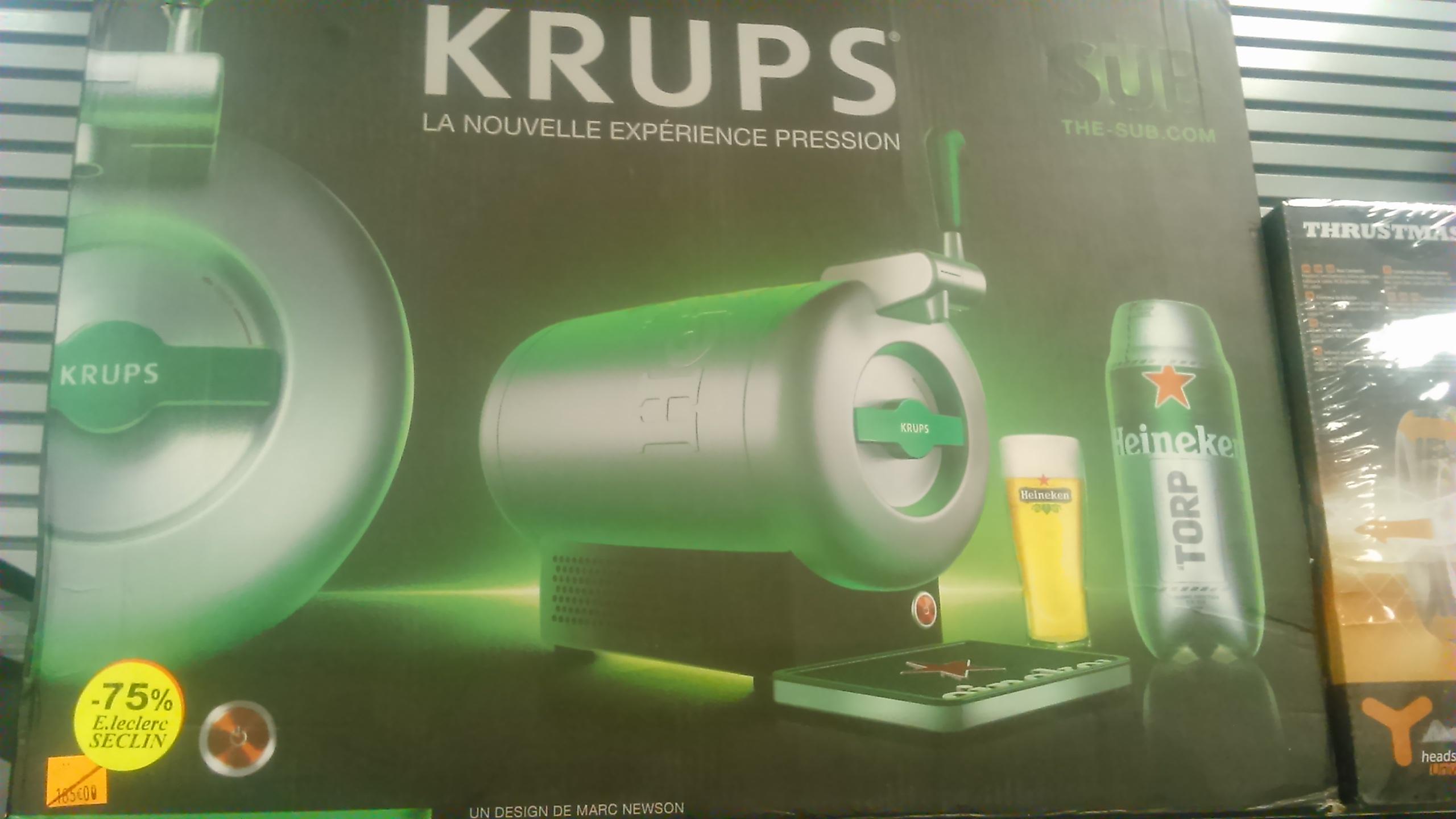 Tireuse à bière The Sub Krups - Leclerc Seclin (59)