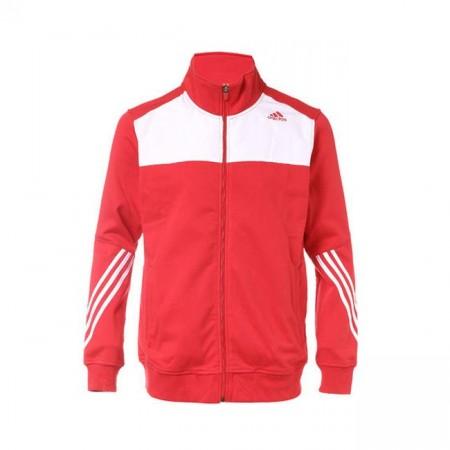 Veste de sport Homme Adidas - Rouge / Blanc | Tailles XXS & XS (frais de port inclus)