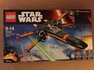 Jeu de construction Lego Star Wars - Poe's X-Wing Fighter (75102) au E.Leclerc Amily (45)