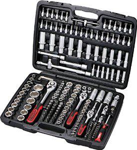 Coffret de douilles et clés à cliquet KS Tools  179 pièces