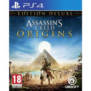 Jeu Assassin's Creed Origins sur PS4 ou Xbox One - Edition Deluxe
