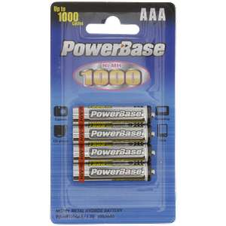 Lot de 4 Piles AA rechargeables - 2000mAh