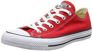 Chaussures mixte Converse Chuck Taylor All Star - Rouges - Taille 40